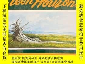 二手書博民逛書店《綠色地平線罕見》GREEN HORIZONS 作者爲加拿大當代