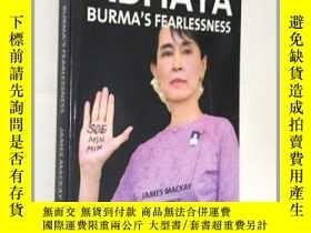 二手書博民逛書店Abhaya罕見Burma s Fearlessness 阿布亚(Abhaya)缅甸的无畏 画册 摄影 平装Y