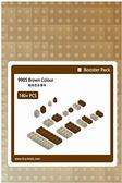 【Tico 微型積木】T-9905 零件補充包 (咖)