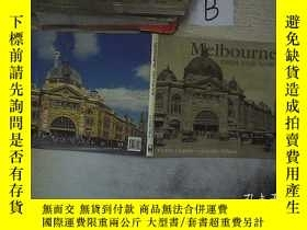 二手書博民逛書店Melbourne罕見then and now 那時的墨爾本Y261116