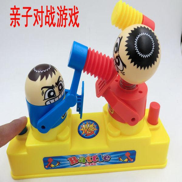 創意新款 pk game 對打人親子對戰雙人桌面游戲兒童益智玩具