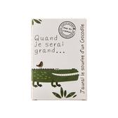 法國 mas du roseau 當我長大系列 肥皂- 鱷魚