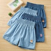 女童短褲 女童牛仔短褲夏季外穿百搭洋氣夏裝薄款寶寶兒童五分褲子中大童裝-Ballet朵朵