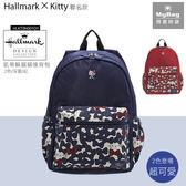 Hallmark x Hello Kitty 後背包 深藍色 凱蒂躲貓貓後背包 HLKT0X003NY MyBag得意時袋