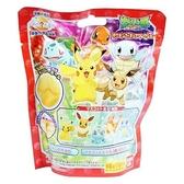 〔小禮堂〕神奇寶貝Pokémon 皮卡丘 造型入浴球《5款隨機.紅.站姿》入浴劑.泡澡球 4549660-35173