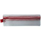 【奇奇文具】雙鶖 Flying 拉鍊袋 PC-572 鉛筆盒網狀袋/收納袋 (具防水功能)
