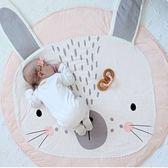 現貨-ins爆款粉色兔子兒童寶寶睡墊 寶寶遊戲毯【E021】『蕾漫家』