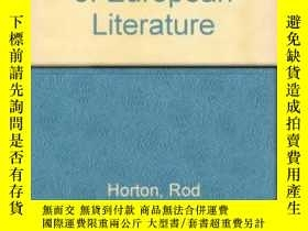 二手書博民逛書店Backgrounds罕見Of European LiteratureY256260 Rod Horton P