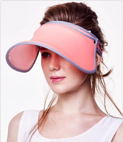 SUNSOUL/HOII/后益---(脈衝光防曬遮陽帽)---伸縮艷陽帽 UPF50+ 紅光 【有機樂活購】