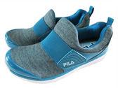 『雙惠鞋櫃』★ FILA ★ 記憶鞋墊  輕量鞋  穿脫式 方便 中大童 慢跑運動休閒鞋  ★ (3-C816Q-333) 藍