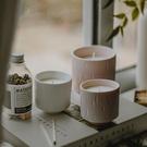 蠟燭材料包天然大豆蠟手工香薰蠟燭無煙精油臥室助眠香薰蠟燭陶瓷杯裝-凡屋