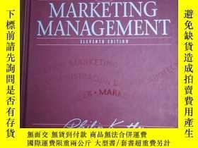 二手書博民逛書店Marketing罕見Management市場營銷管理Y1280