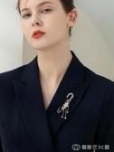 百搭大別針扣裝飾高檔固定衣服外套開衫毛衣披肩配飾品胸花胸針女創時代3c館