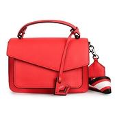 Botkier防刮皮革手提/斜背兩用風琴包(紅色)260001-11