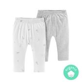 【美國Carter's】有機棉長褲2件組-甜蜜時光 #127H232