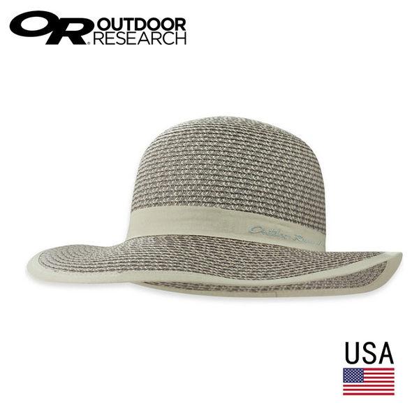 美國 Outdoor Research 素色草編大盤帽80390 / 女版 / 城市綠洲 (超透氣.通風.不悶熱.有型.OR)
