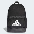 adidas 後背包 Classic Backpack 男女款 基本款 經典 Logo 雙肩背 黑 白 【ACS】 DT2628
