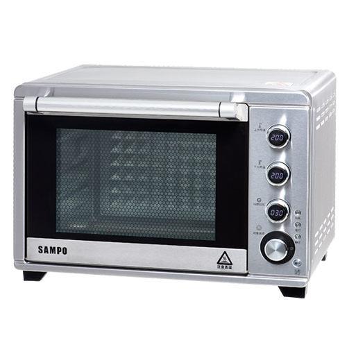 ◤A級福利品‧數量有限◢ 【SAMPO聲寶】38L雙溫控油切旋風烤箱 KZ-TA38F (夜間破盤下單專區)