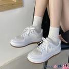 熱賣帆布鞋 運動帆布小白板鞋女潮鞋2021年新款秋冬韓版百搭厚底學生原宿 coco