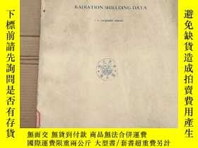 二手書博民逛書店A罕見handbook of radiation shielding data(P2662)Y173412