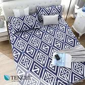 天絲床包三件組 加大6x6.2尺 秋憶  100%頂級天絲 萊賽爾 附正天絲吊牌 BEST寢飾