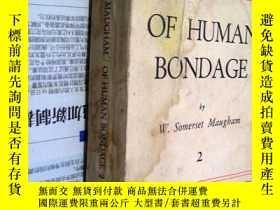 二手書博民逛書店OF罕見HUMAN BONDAGE 2【人與人之間2】4874
