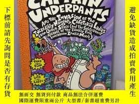 二手書博民逛書店Captain罕見Underpants and the Invasion of the Incredibly Na