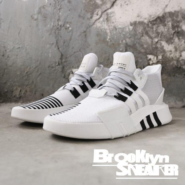 ADIDAS EQT BASK ADV 白黑 休閒鞋  慢跑鞋 男 (布魯克林)  BD7772