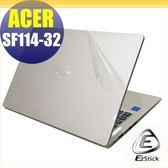 【Ezstick】ACER Swift 1 SF114-32 透氣機身保護貼(含上蓋貼、鍵盤週圍貼、底部貼)DIY 包膜