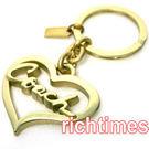 【裕代 COACH】金心鑰匙圈 CC459121