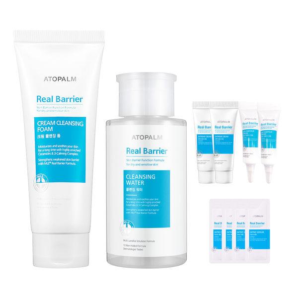 【Real Barrier】沛麗膚 屏護潔膚卸妝6件組 敏感肌適用 肌膚屏障