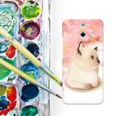 ✿ 3C膜露露 ✿ HTC One E8【櫻花貓*水晶硬殼 】手機殼 保護殼 保護套 手機套