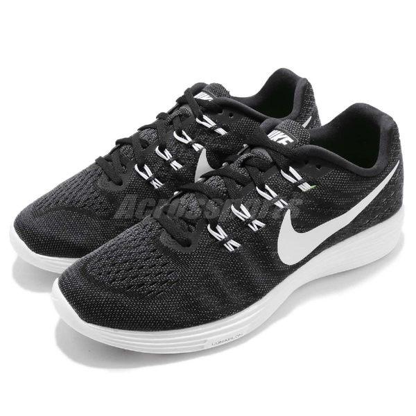【五折特賣】Nike 慢跑鞋 Lunartempo 2 黑 白 運動鞋 黑白 路跑休閒 男鞋【PUMP306】 818097-002