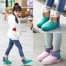 雪靴 女童雪地靴新款防滑軟底兒童棉靴20...