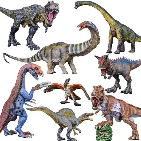 侏羅紀世界大號恐龍塑料恐龍玩具套裝男孩兒童模型霸王龍仿真動物【全館滿888限時88折】