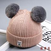 兒童加絨女男童針織帽【聚寶屋】