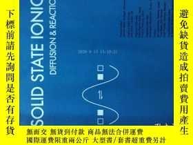 二手書博民逛書店Solid罕見State Ionics Diffusion and Reactions 固態離子2017 10