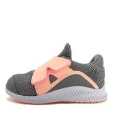 Adidas Forta Run X CF I [AH2479] 小童鞋 運動 休閒 透氣 舒適 魔鬼氈 愛迪達 灰