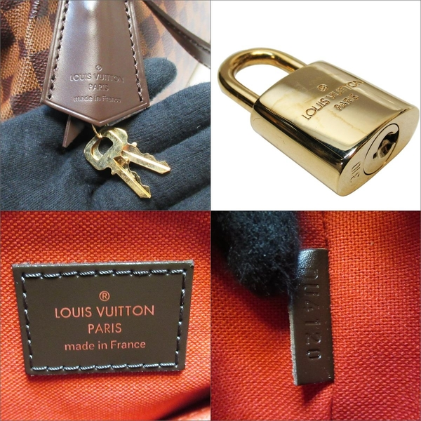 LOUIS VUITTON LV 路易威登 棋盤格手提肩背包 Verona PM N41117【二手名牌BRAND OFF】