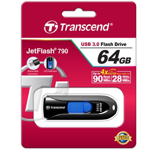 創見64G USB3.0隨身碟JF790K【愛買】