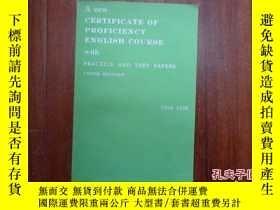 二手書博民逛書店A罕見new certificate of proficienc