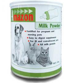 【培菓幸福寵物專營店】愛美康Amazon寵物代母三用奶粉500g