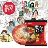 韓國 Paldo 極地麻辣湯麵 (五包入) 全球最辣泡麵 夾縫拉麵 極地麻辣