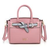 PLAYBOY- 手提包附長背帶  玩色繽紛系列 -粉紅色