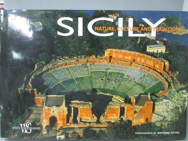 【書寶二手書T6/攝影_XCS】Sicily-Nature, Culture And Traditions_Maria
