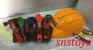 sns 古早味 懷舊童玩 玩具 工程組 塑膠 工具有 鐵鎚.鋸子...