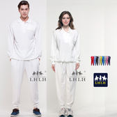 白色 純白色 運動套裝 素面 素色 團體制服 長袖 男生 女生 Polo衫 【現貨】