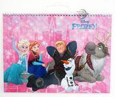 【金玉堂文具】迪士尼 Disney 冰雪奇緣Frozen 9K手提易撕素描本 艾莎 安娜 雪寶