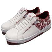 Royal Elastics 休閒鞋 Icon Z 免鞋帶 懶人鞋 白 紅 花卉圖騰 運動鞋 女鞋【PUMP306】 92981011