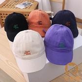 兒童帽子薄款棒球帽男童女童鴨舌帽夏季寶寶防曬遮陽太陽帽【宅貓醬】